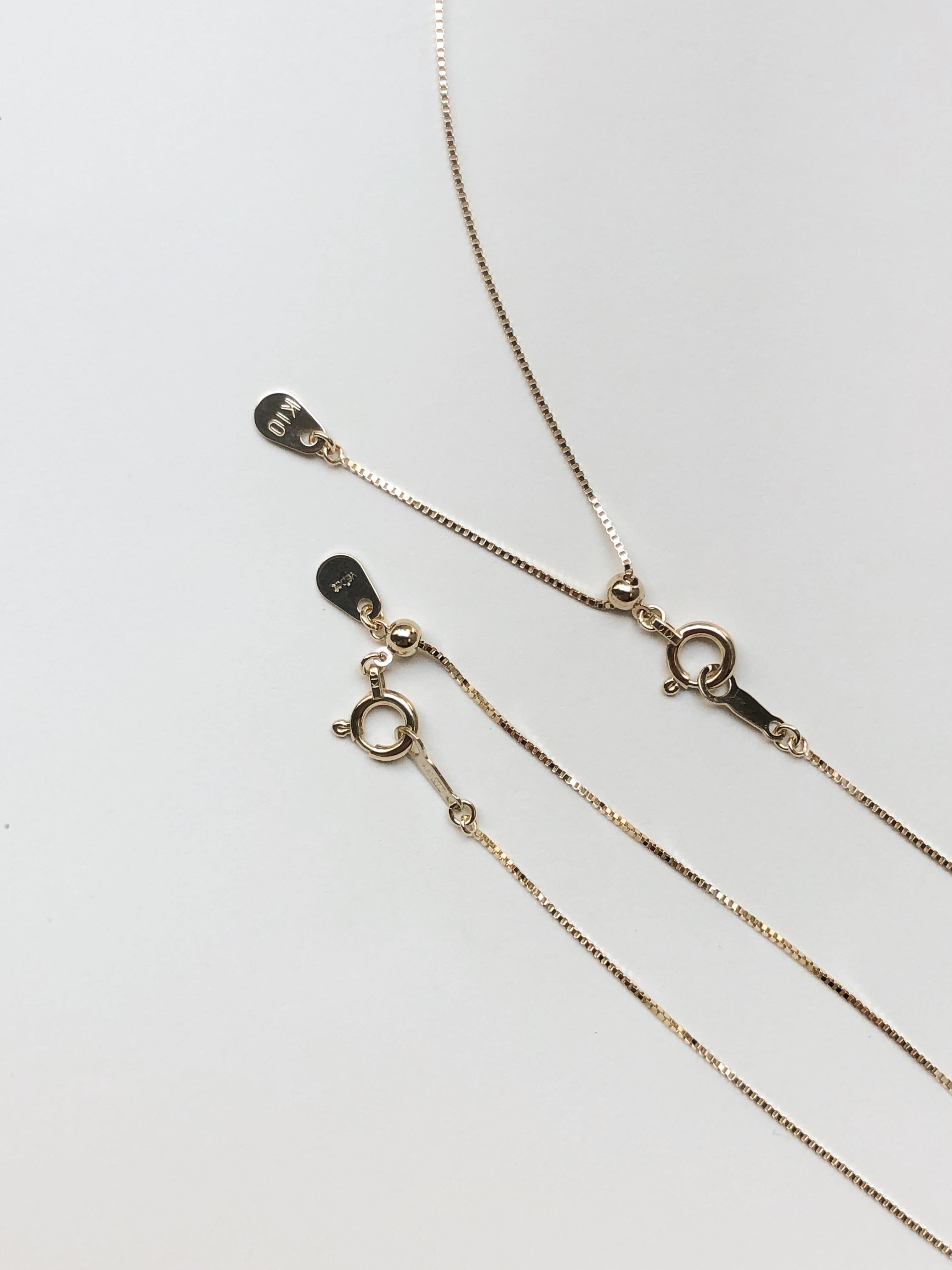 新作:venetian necklace / bracelet