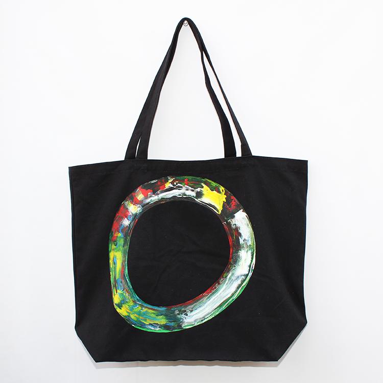 カラフルな配色の手描きトートバッグが新登場!個性的でおしゃれな一点ものの小物をお探しの方におすすめ