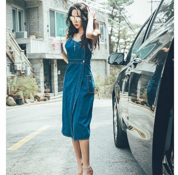 今春、大流行のデニム☆そのデニムでもキラリと個性を発揮したいあなたにおススメのラップタイプスカート♪