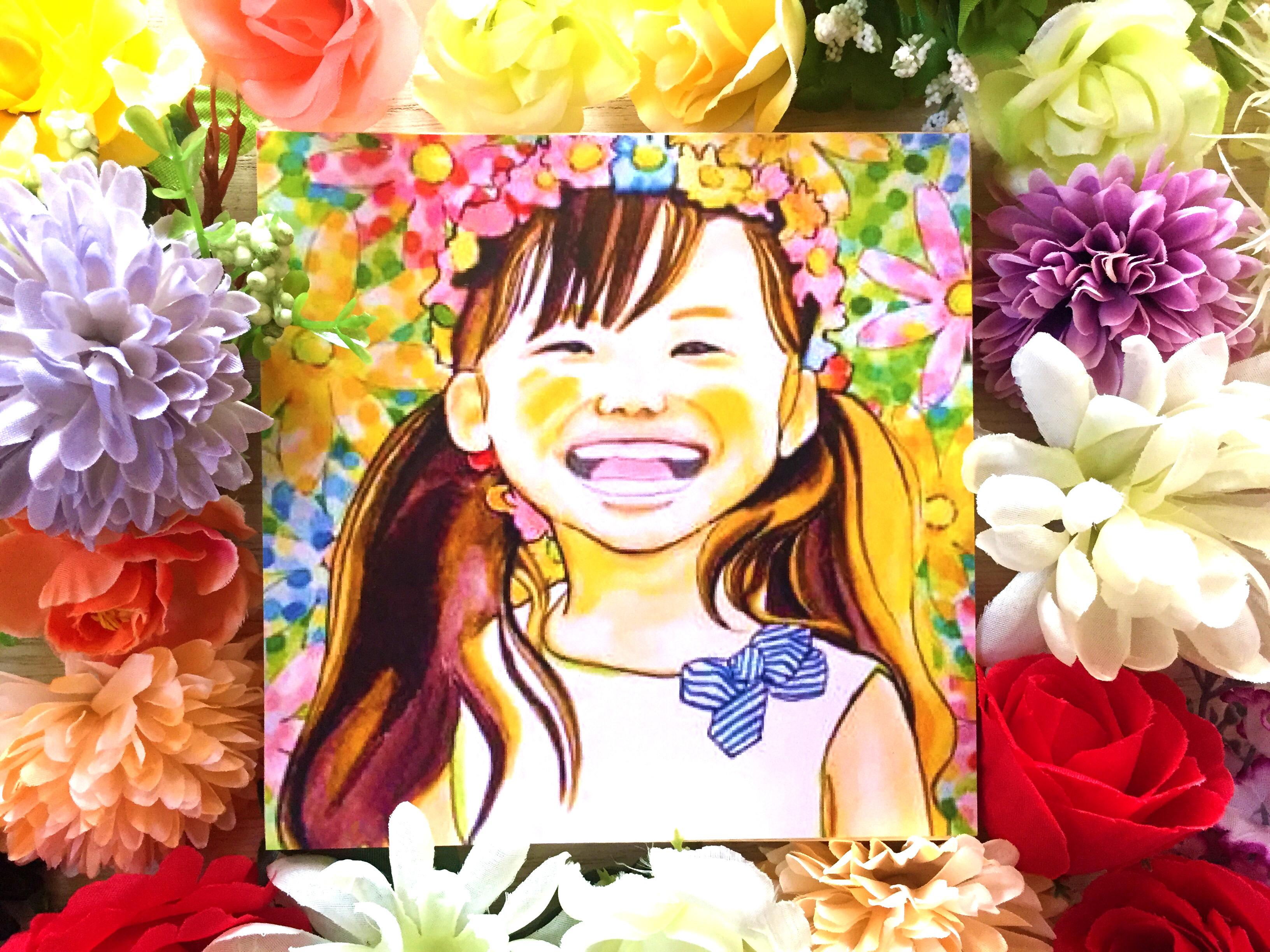 どんな素敵なお花だって君の笑顔の前では霞んでしまうよ