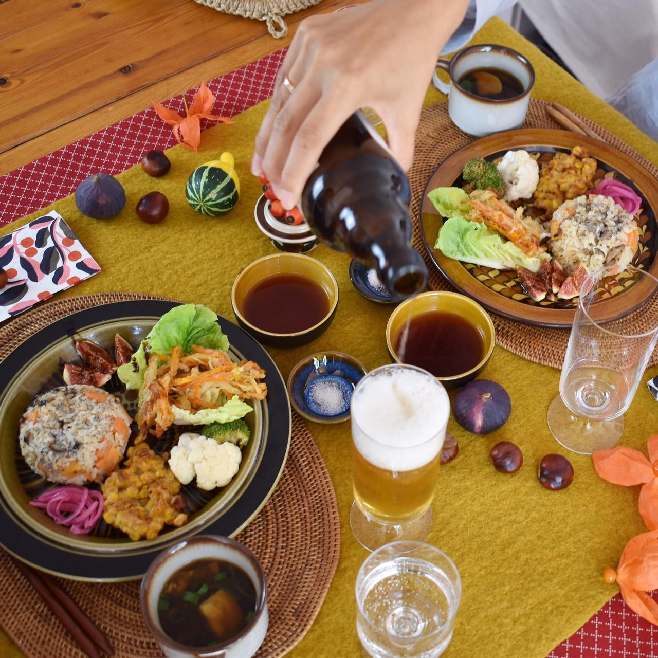 ヨーロッパは秋、食欲の秋を楽しむコーディネート