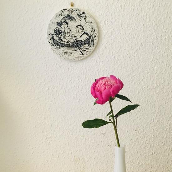 ロマンチックな壁掛け小皿シリーズ