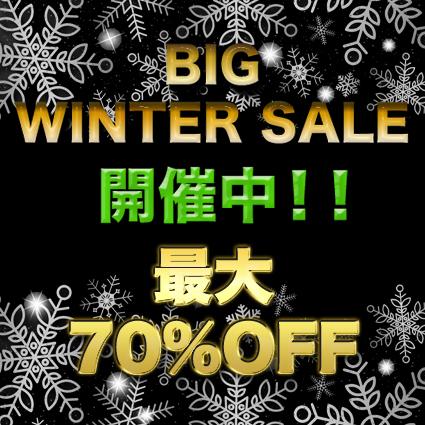 BIG WINTER SALE開催中!!
