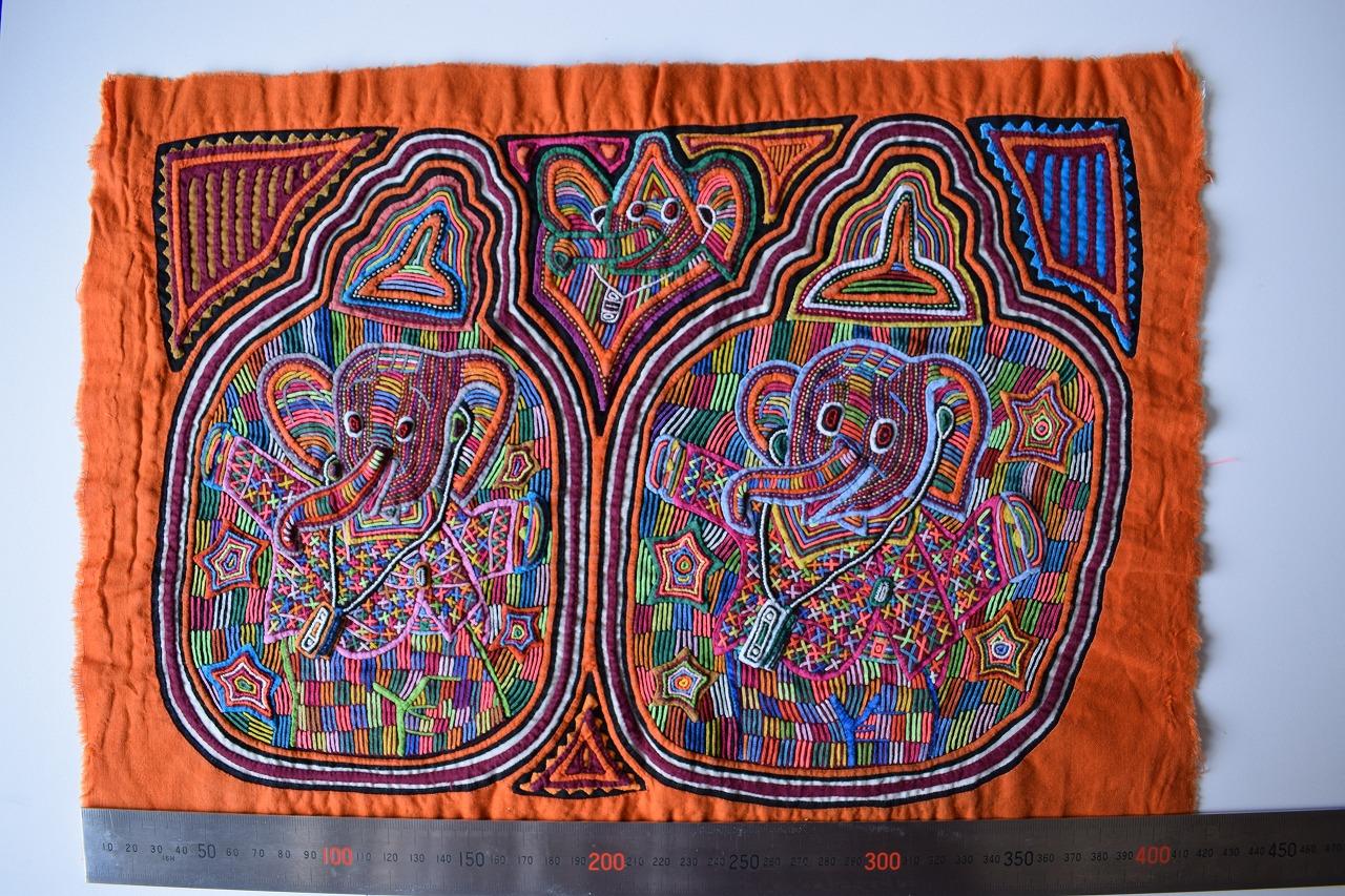 至宝のモラ  世界トップクラスの刺繍技術