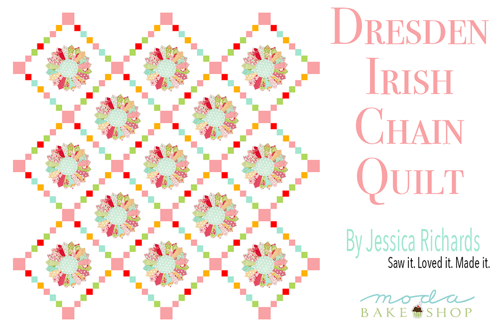 Dresden Irish Chainquilt  by Jessica Richards