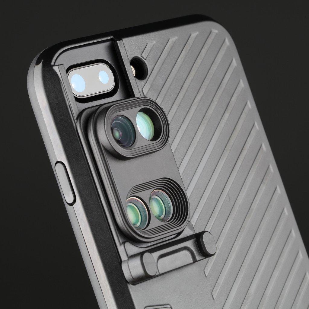 【iPhone7 Plus対応】新しいレンズ一体型スマートフォンケースが登場