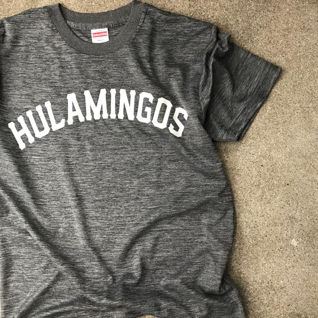 HULAMINGOS  COLLAGE LOGO T-SHIRT