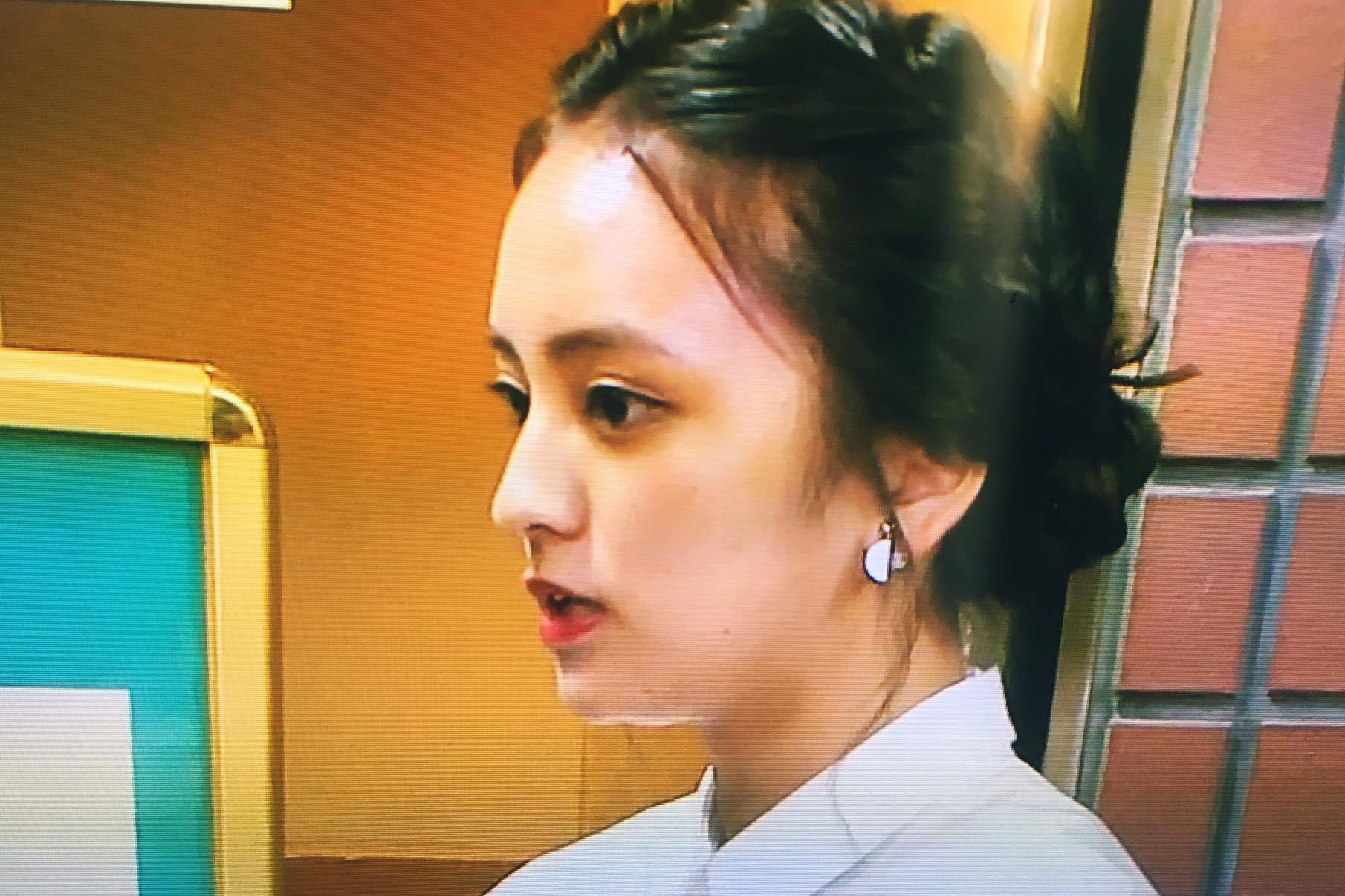 岡田結実さん着用-日本テレビ 一周回って知らない話-