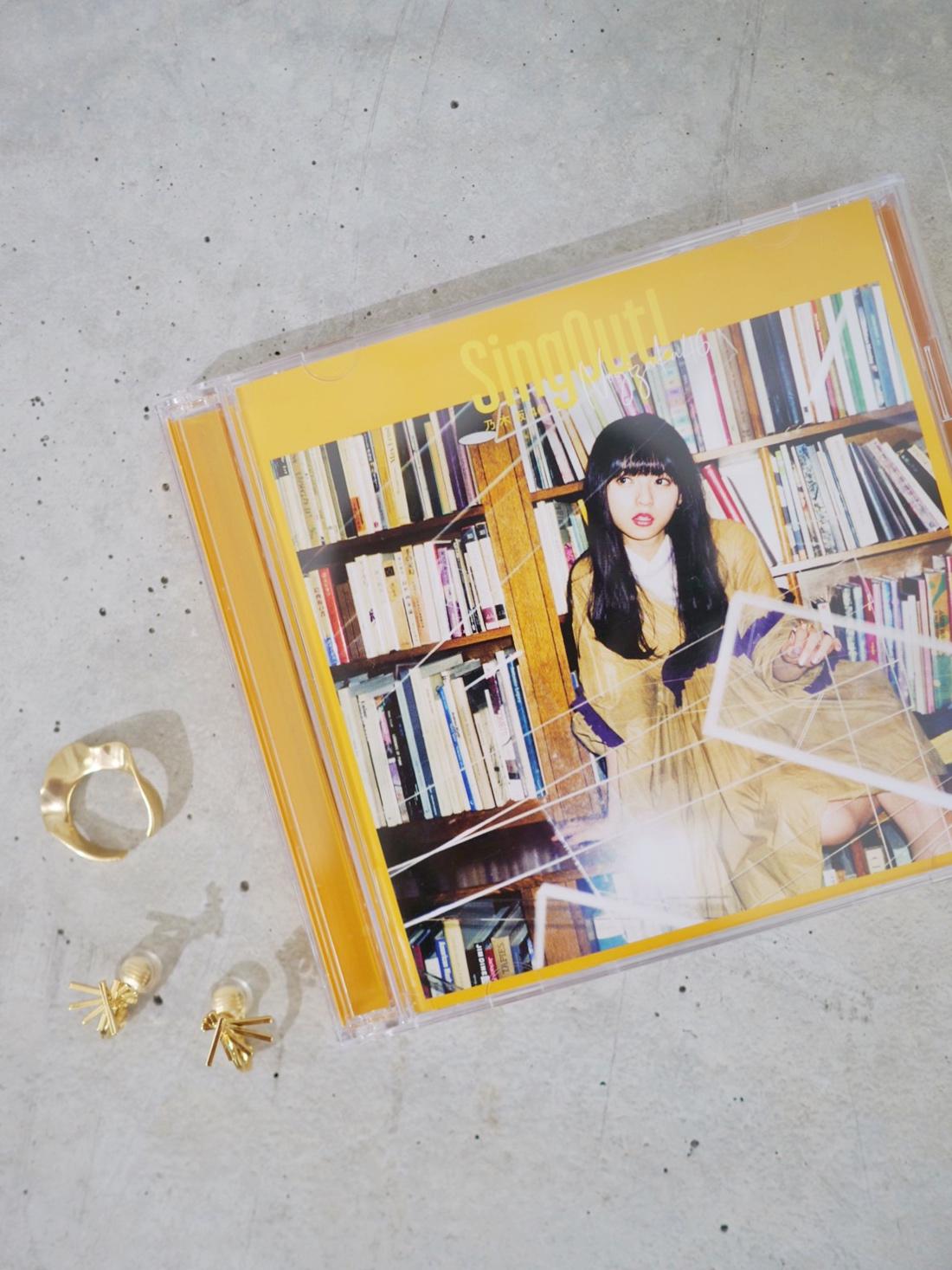 乃木坂46 CDジャケット掲載