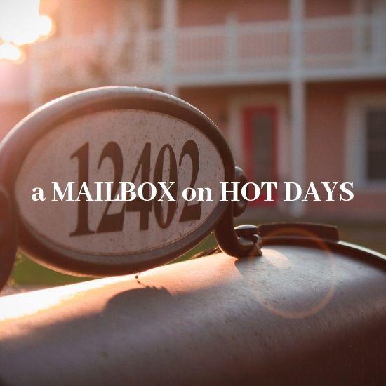 暑い時期のポスト投函について