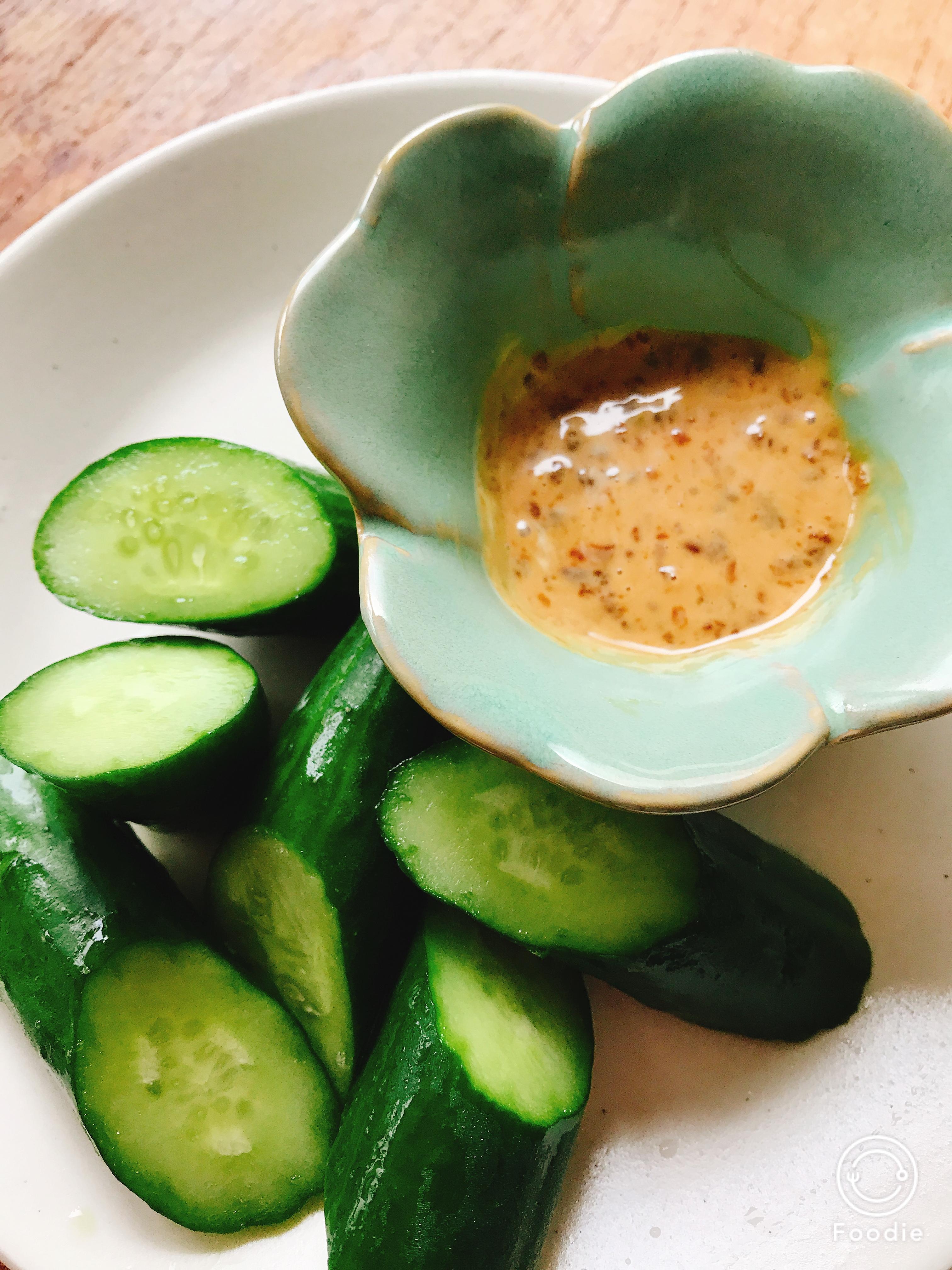   発酵食レシピ   醤油麹もろきゅう