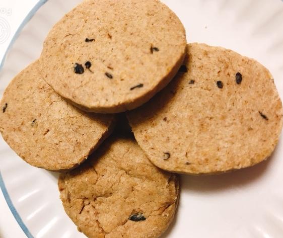 有機玄米を使った米粉のクッキー