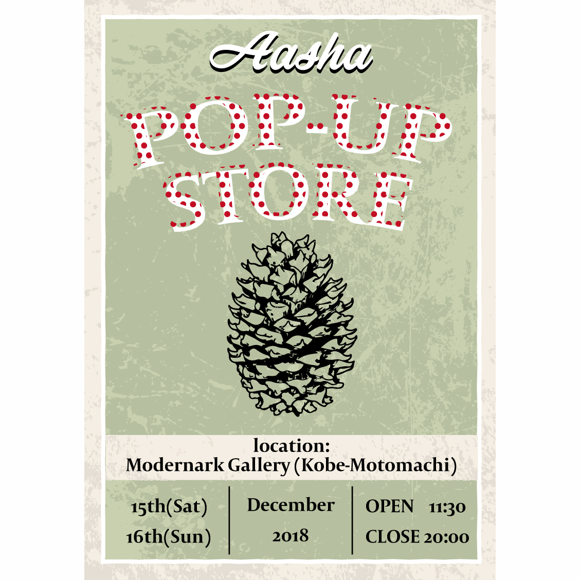 Aasha Popup Store @ Modernark Gallery
