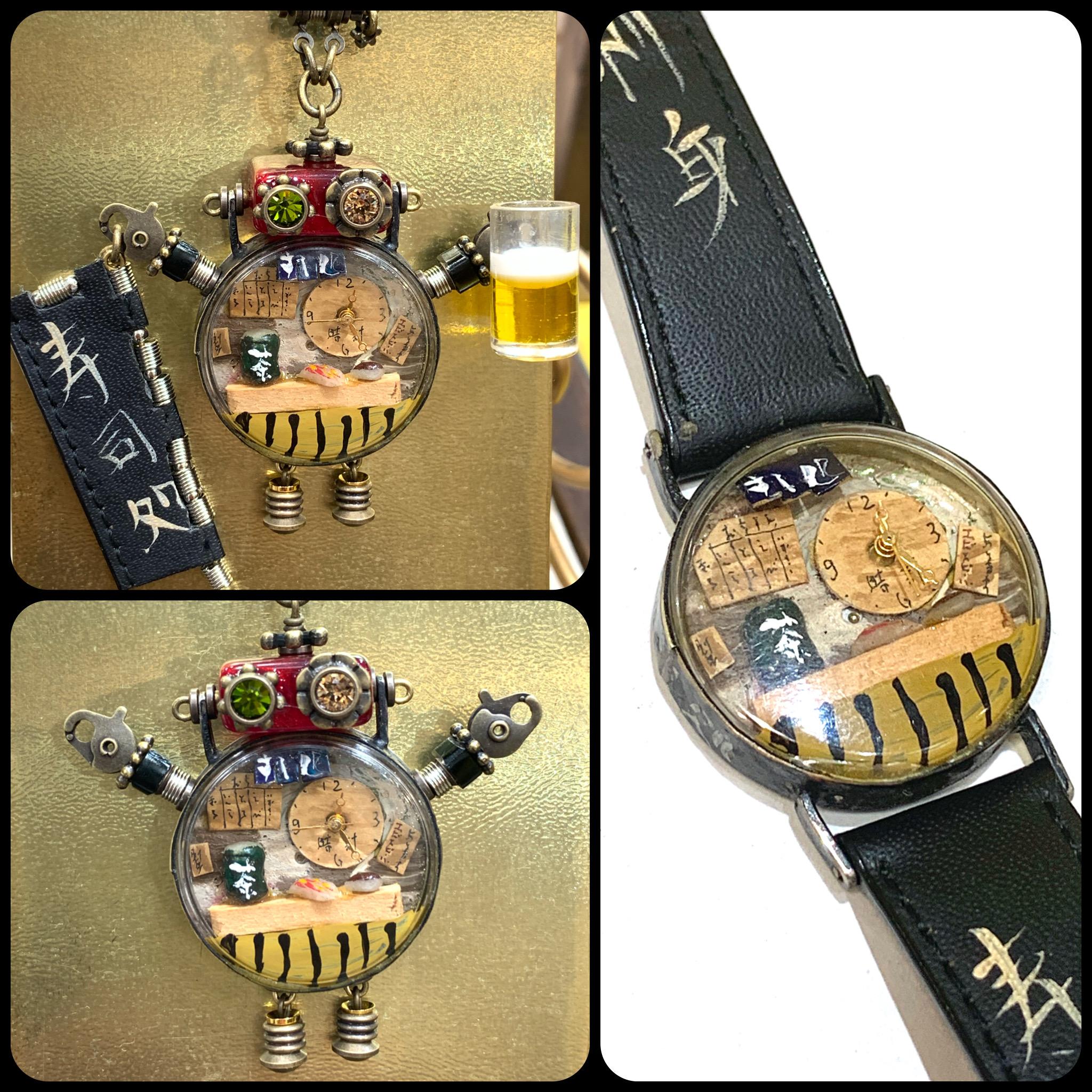 手造り腕時計のリメイク作品