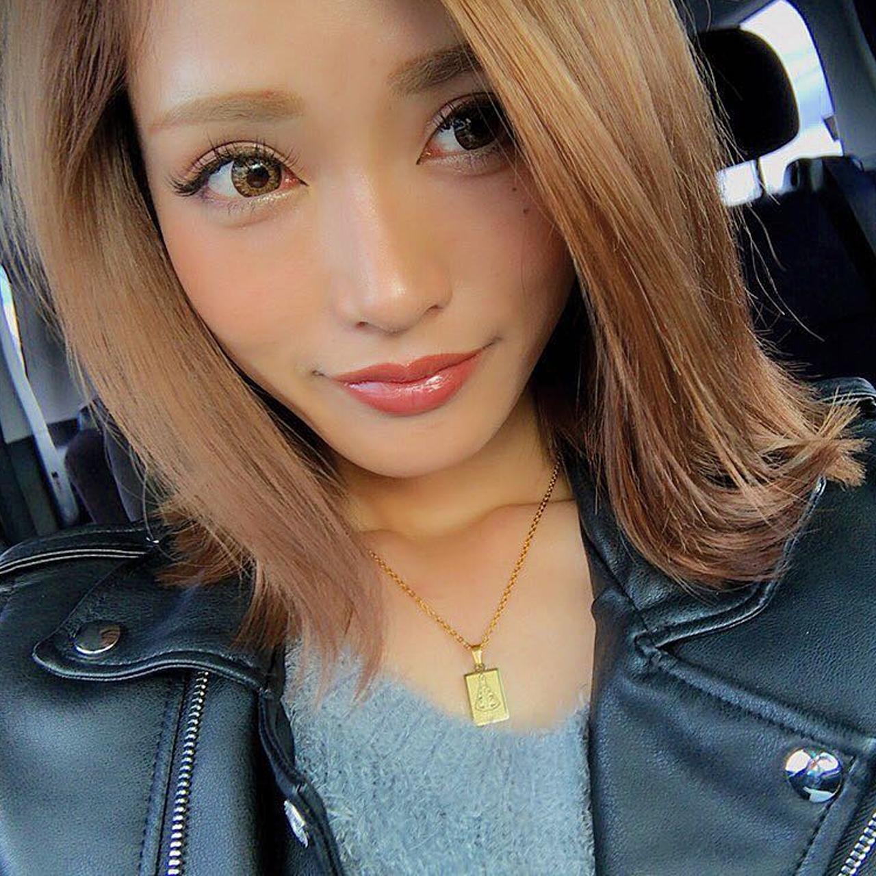 ☆ボックスネックレスARC/ゴールド☆インスタグラマーさんご紹介♡