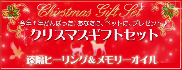 クリスマスギフトセット・受付開始!