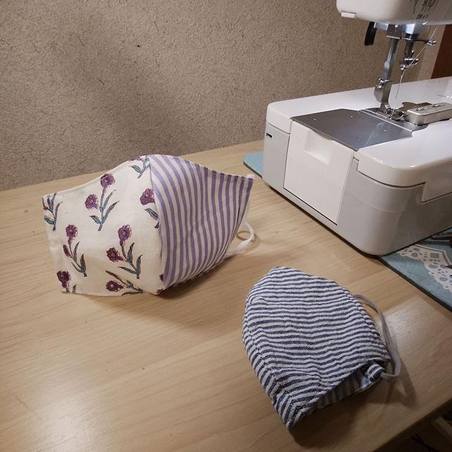 布製立体マスクを作りました!