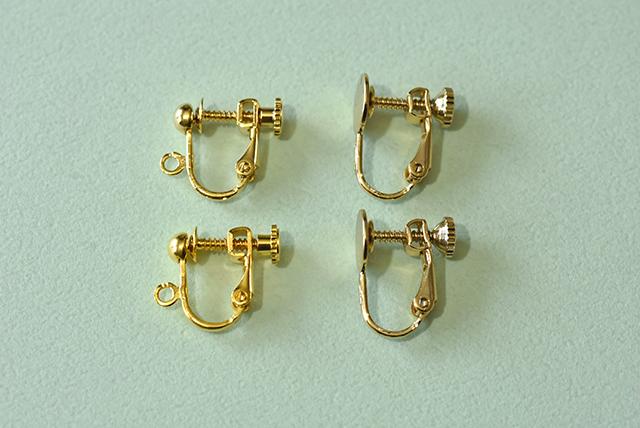 【金具の付け替えについて】イヤリング金具やアレルギー対応金具への付け替え