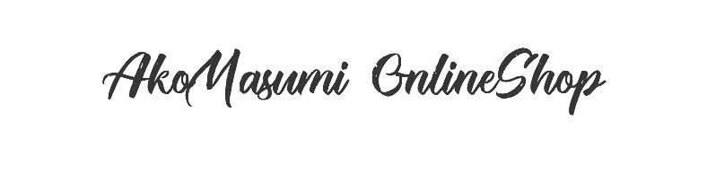 オンラインショップ開始しました!/ Masumi Ako's OnlineShop started!