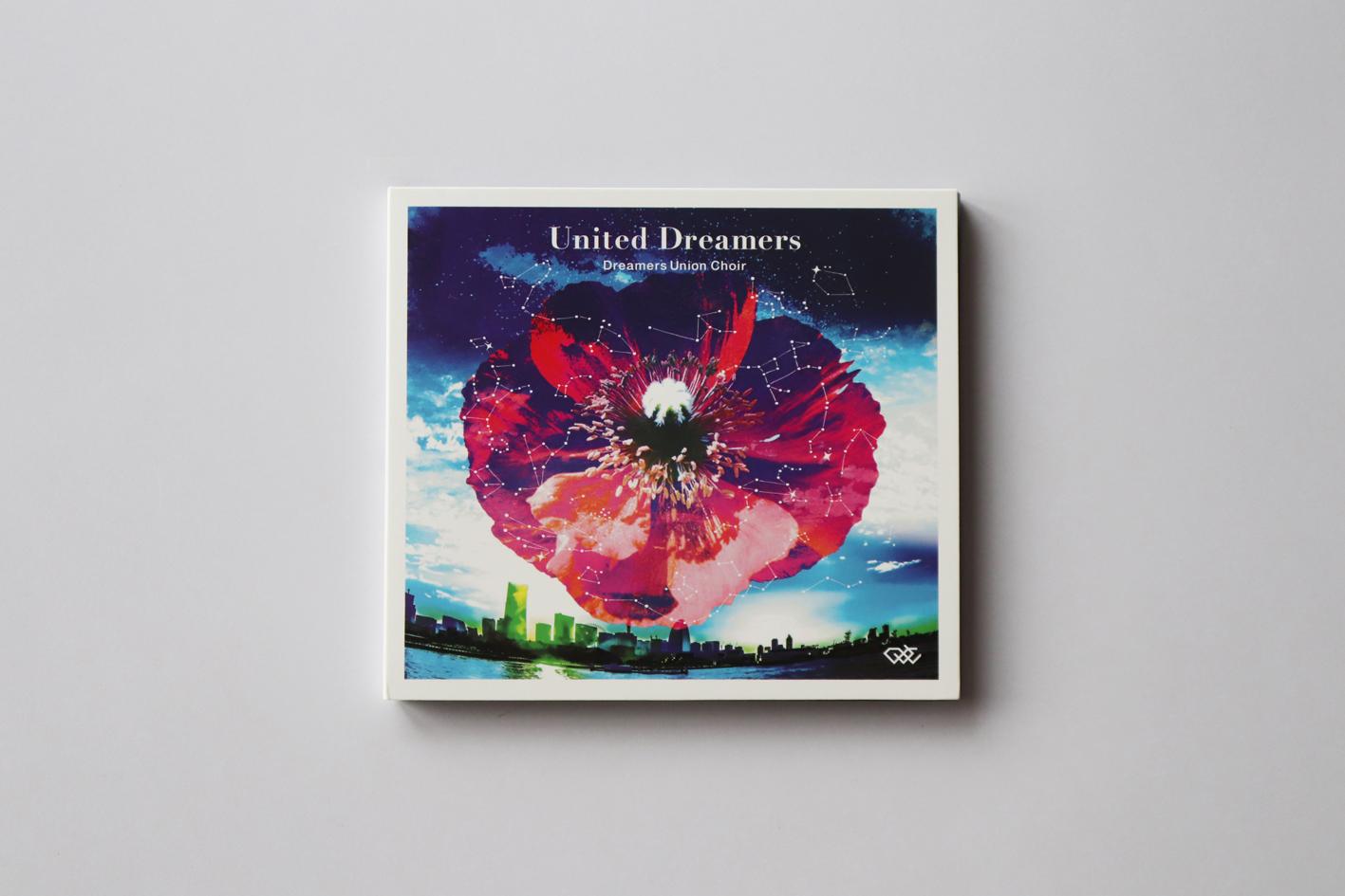 DUC newアルバム【United Dreamers】ジャケットデザイン制作