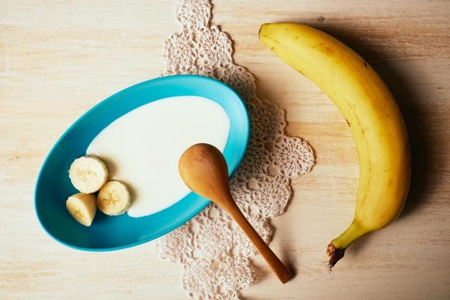 バナナとヨーグルトの相性
