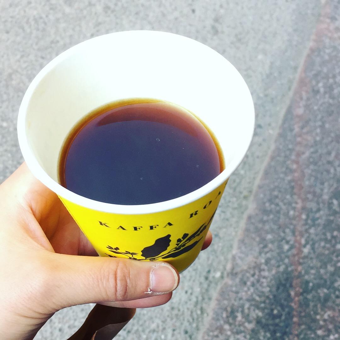 フィン旅2018④ ヘルシンキのコーヒー屋さん2つ目。