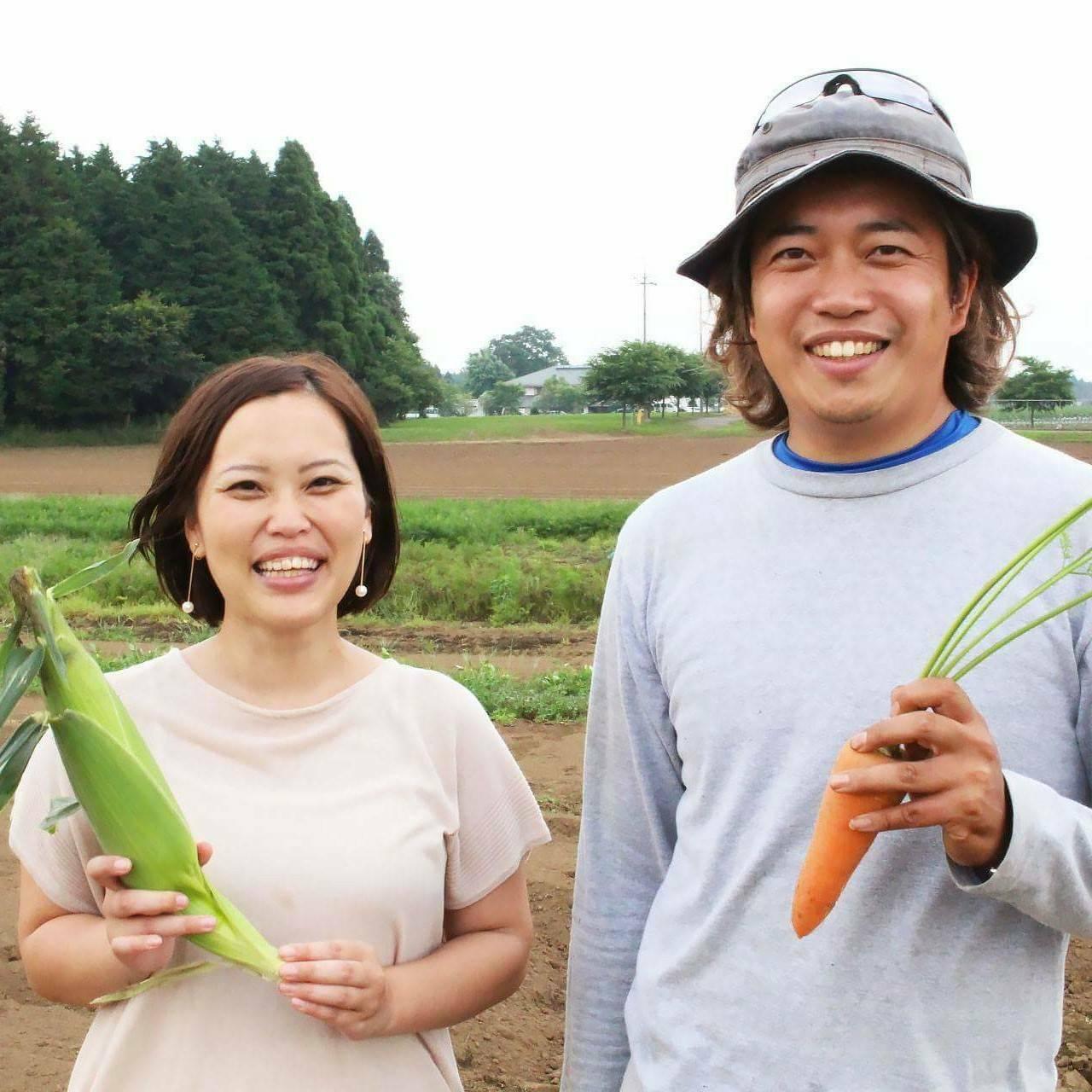 【Vegewonder】千葉県八街市小山さんの畑