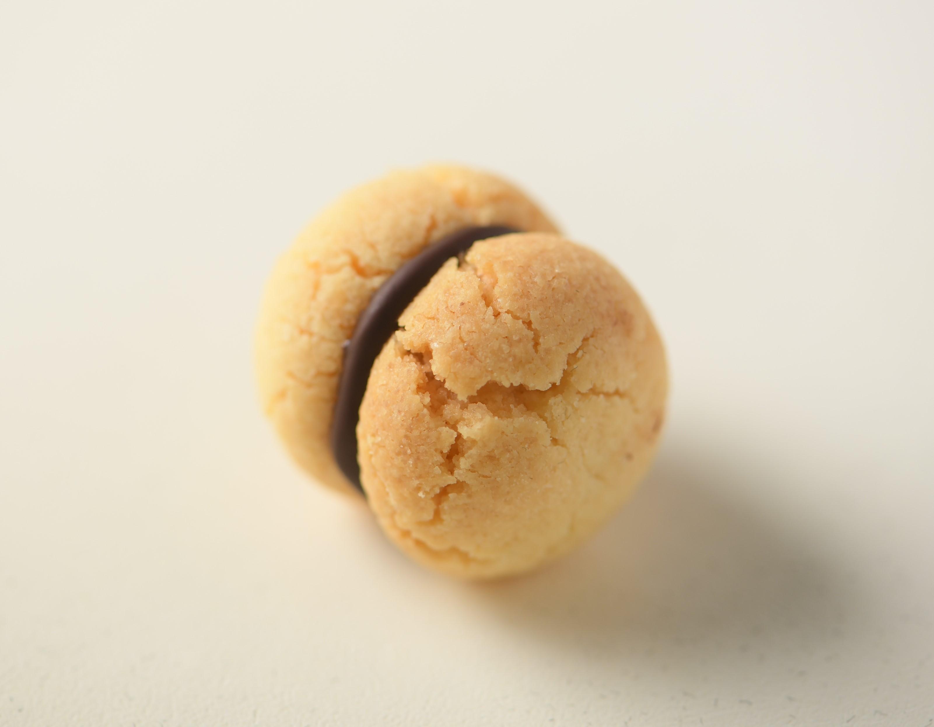 """イタリア伝統菓子 """"貴婦人のキス""""に ココア、ピスタチオ、ヘーゼルナッツ、3種の新味が誕生!"""