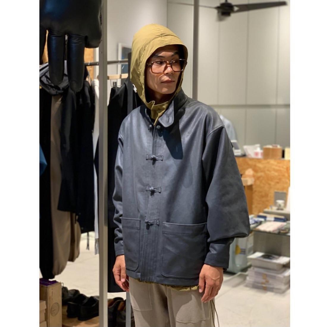 """""""蒸し暑くて8月""""【Product Twelve】China Leather Blouson"""
