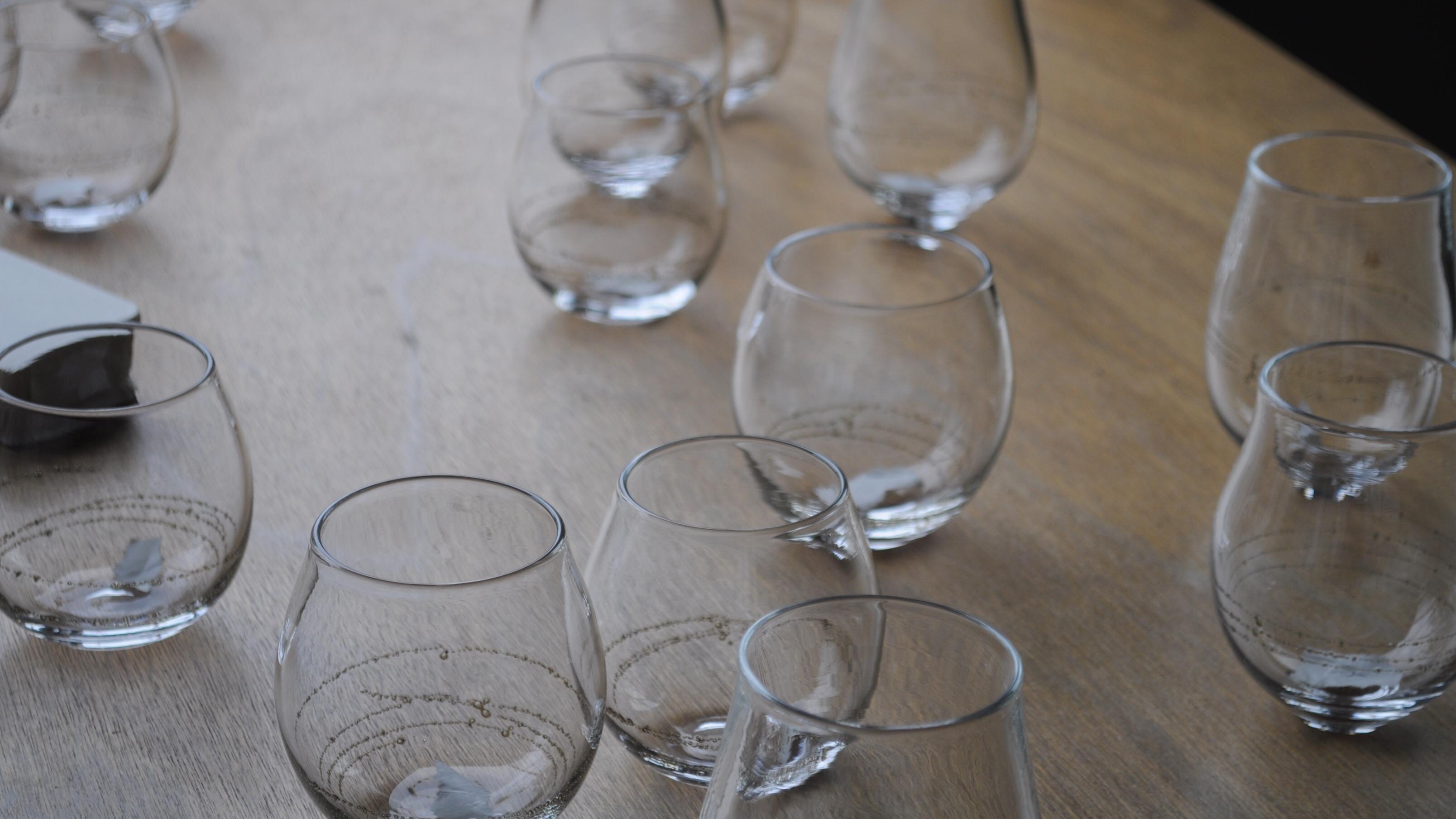 【入荷のお知らせ】曽田伸子さんのグラス
