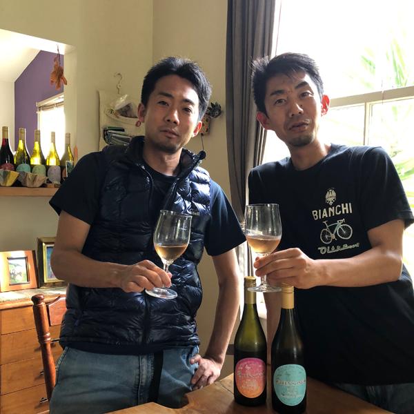 【NZ視察/2019年3月】グリーンソングス 、浩平さん宅で新ビンテージワインを試飲!