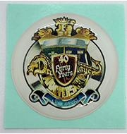 『日本ファルコム創立40周年記念ロゴ』サンドームシールプレゼント中