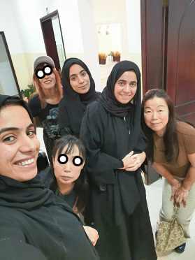 アラブの女性は髪が命