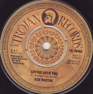 Ken Boothe - Crying Over You(和訳/歌詞付)