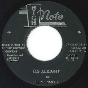 Slim Smith - It's Alright(和訳/歌詞付)
