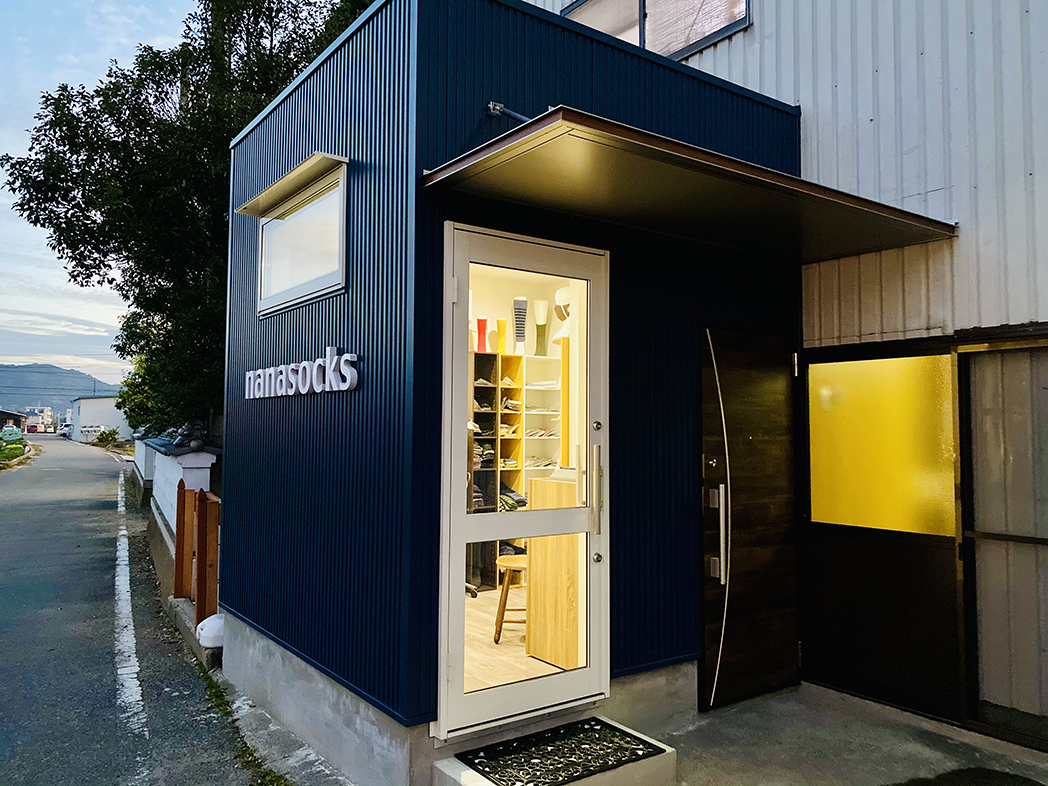 ナナソックスの工場直営ショップがオープンしました!