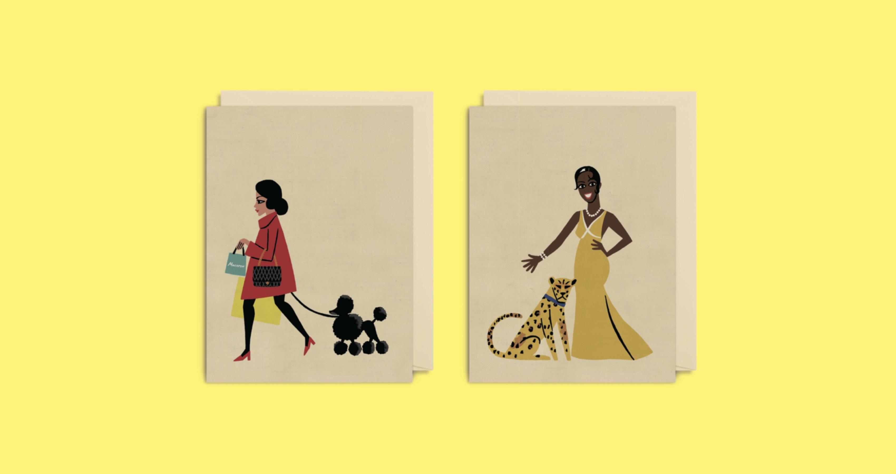 額に入れて飾りたい、英国人イラストレーター「ポール・サールビ」のグリーティングカード
