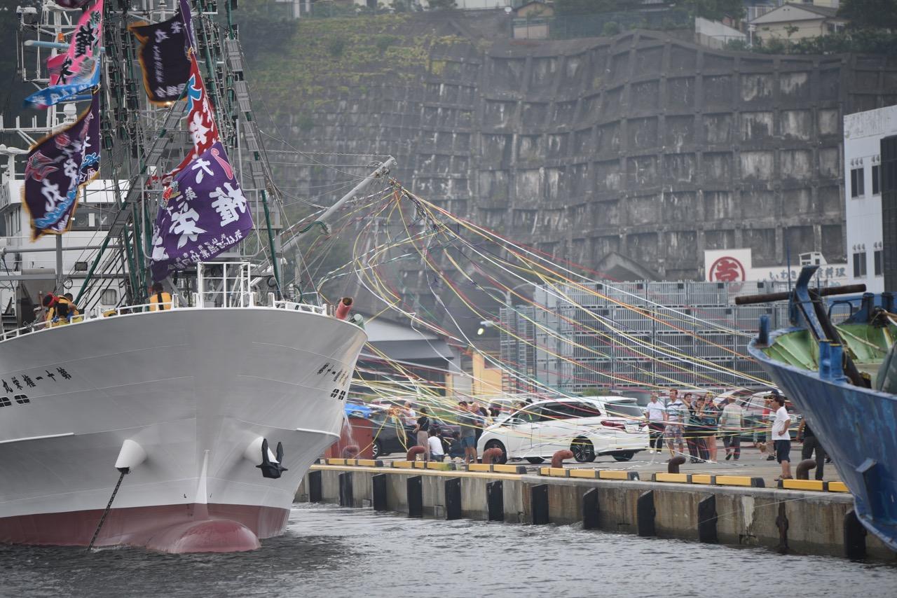 福島県船籍のサンマ船が出船! 2019年のさんまシーズンスタート