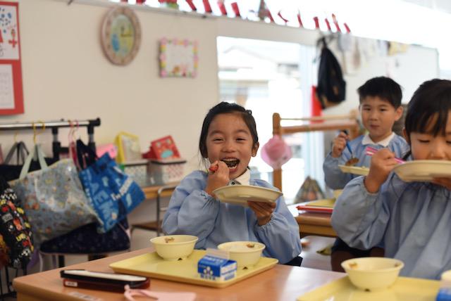 食べて学んで、みみみ食育授業@九品寺こども園