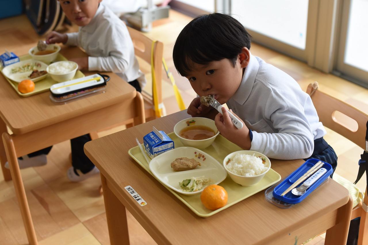 みみみ出張食育授業@いわき市九品寺平窪幼稚園