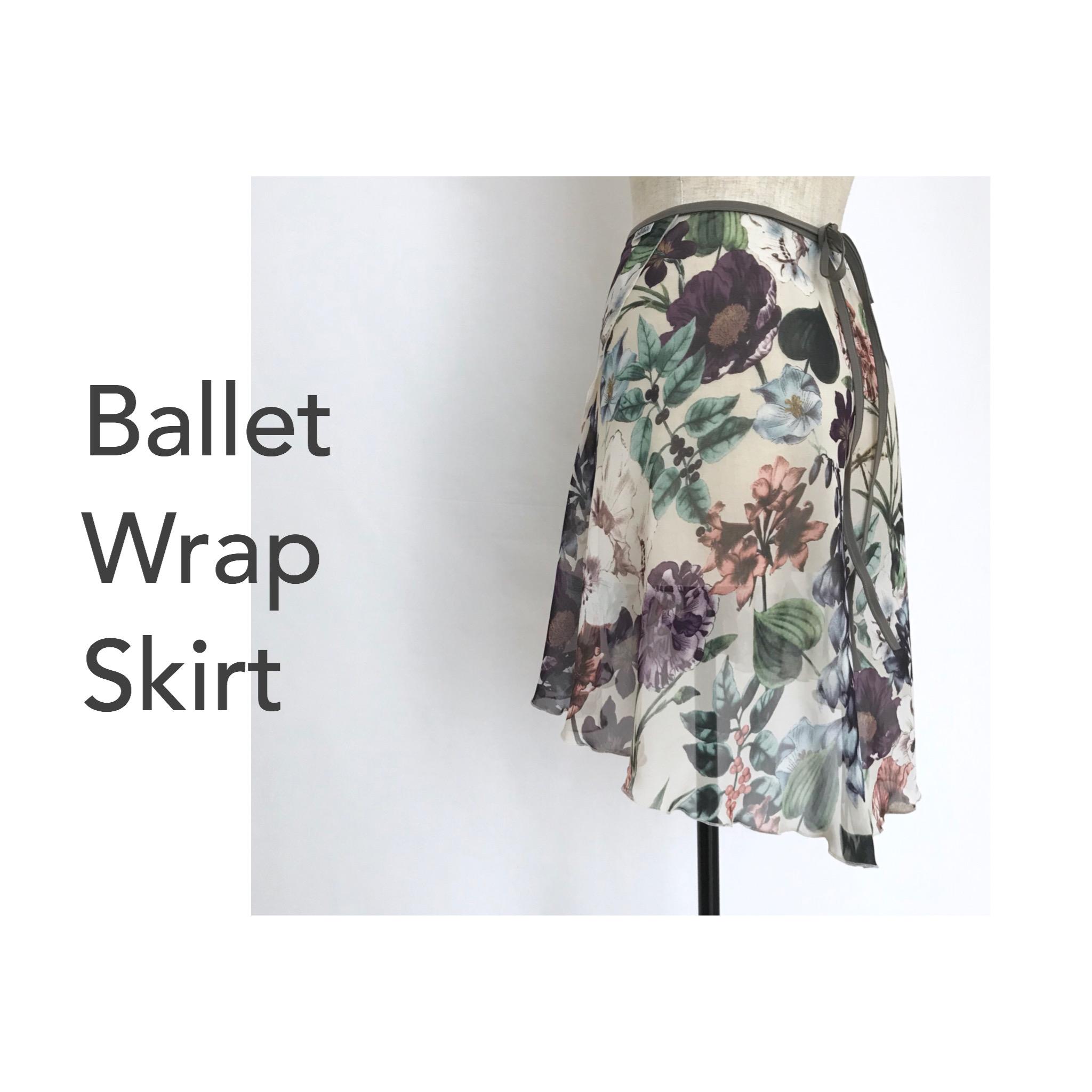 ◆Product INFO◆Balletholicの 巻きスカート について