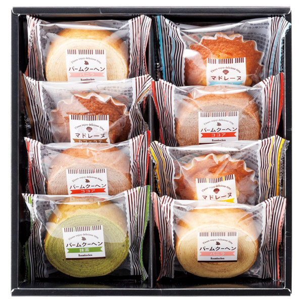 スウィートタイム 焼き菓子セット バームクーヘン ギフト 個包装 バウムクーヘン BM-BO