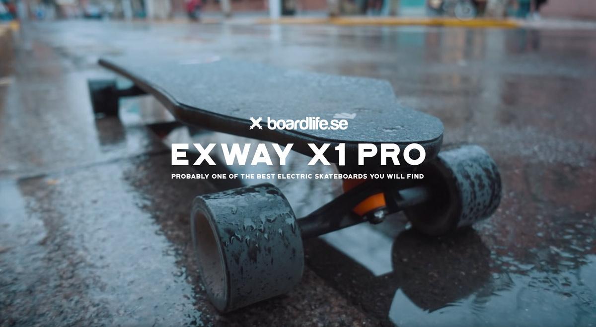 EXWAY X1 PRO リリース!|最新型|EXWAY社 電動ロングスケートボード