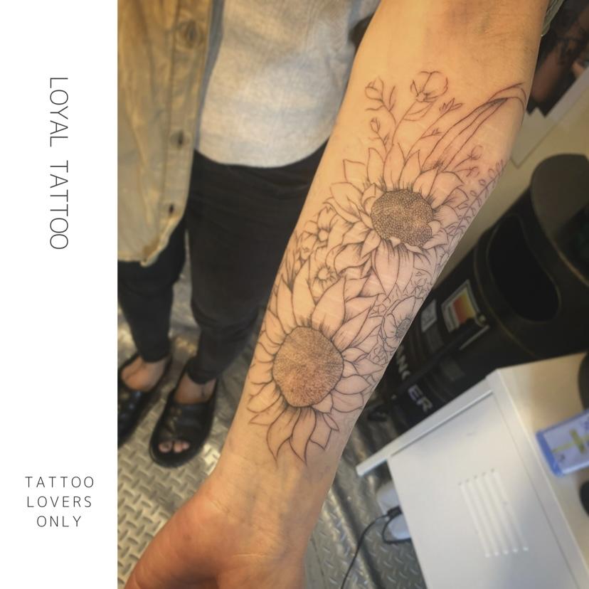 ラインワーク / 細い線のタトゥー | 東京渋谷タトゥースタジオ 刺青師 渋谷伊彫