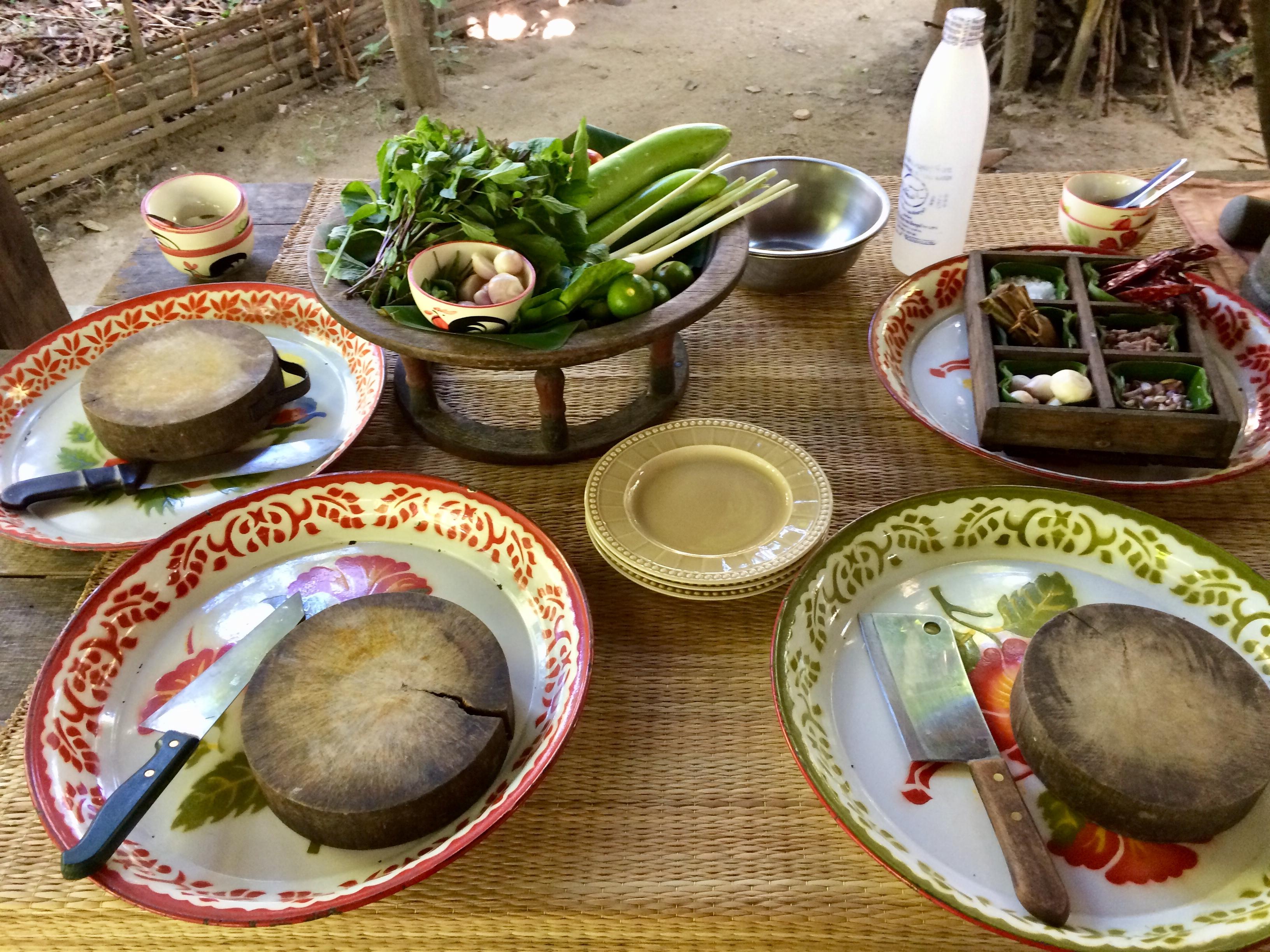 チェンマイの家庭料理①