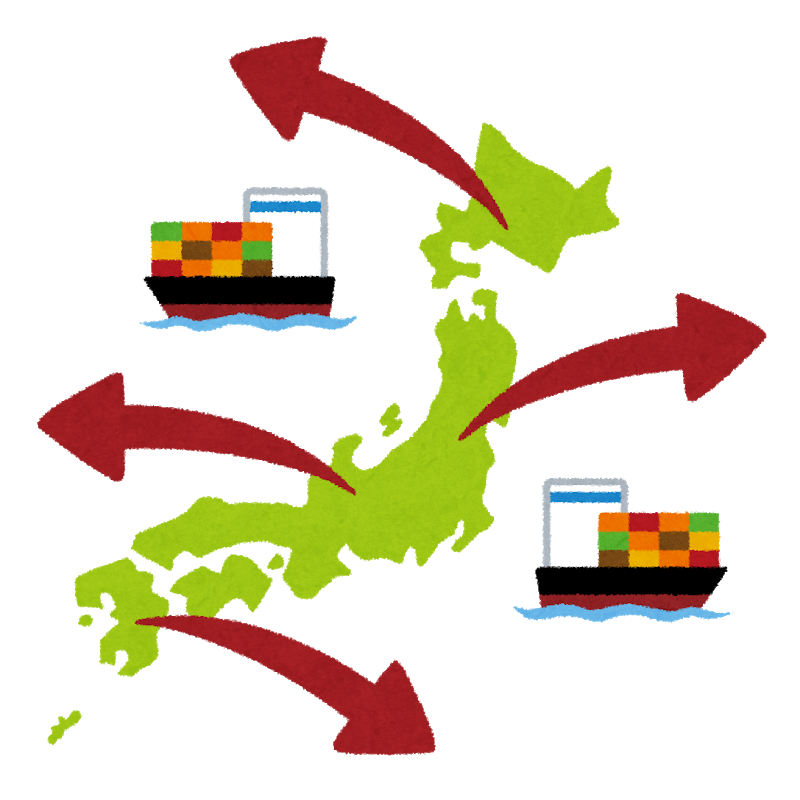 About overseas shipment