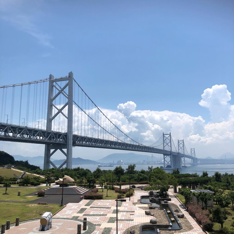 四国と本州を結ぶ橋✨