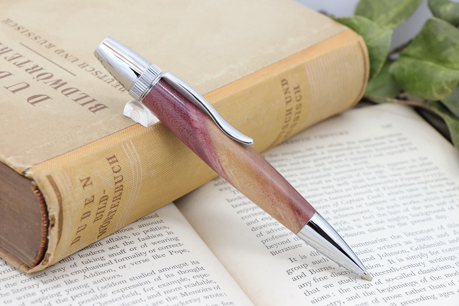 お知らせ:【Chouette】シリーズに木のペンの新作を多数追加いたしました。