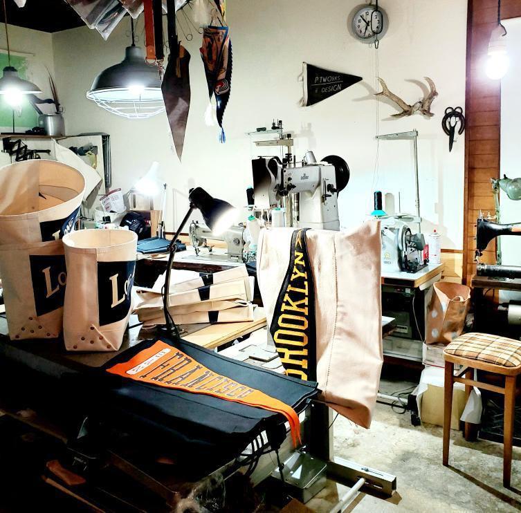 「P.T Works & Design」とのコラボレーショントートバッグ販売の件