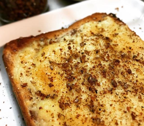 胡椒レシピ【赤胡椒】:胡椒トースト